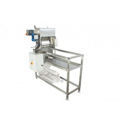 Стол для распечатки автомат (400В) с ножами, подогреваемыми электрически, без станка для отжима забруса