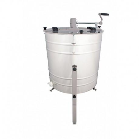 Медогонка Минима 4-рамочная диаметр 600. ручной металлический привод  с оборотными рамками