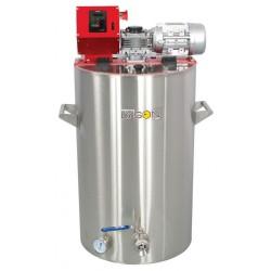 Оборудование для декристаллизации и кремования меда 100 л (230 V) ( с водным подогревом ) блок управления ЭКОНОМ