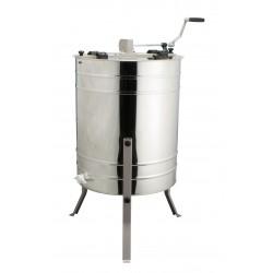 Медогонка Минима 4-рамочная диаметр 600. ручной металлический привод  корзина универсальная.