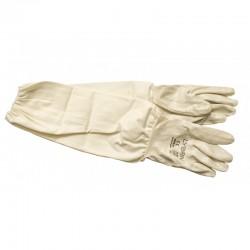 Перчатки резиновые длинные