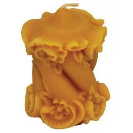 Forma silikonowa: Świeca ozdobna  (wys. 9,5 cm)