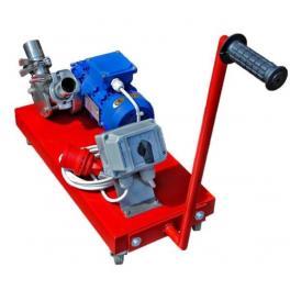 Urządzenie ssąco-tłoczące do kremowania i przepompowywania miodu 400V, 0,37kW