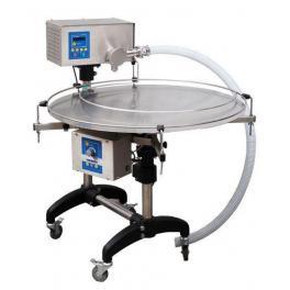 Urządzenie wielofunkcyjne do dozowania, kremowania i pompowania miodu ze stołem obrotowym.