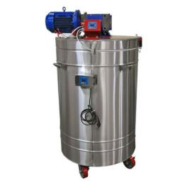 Urządzenie do kremowania miodu 600 L, (400V),  z płaszczem grzewczym (na dekrystalizatorze) ze sterownikiem automatycznym